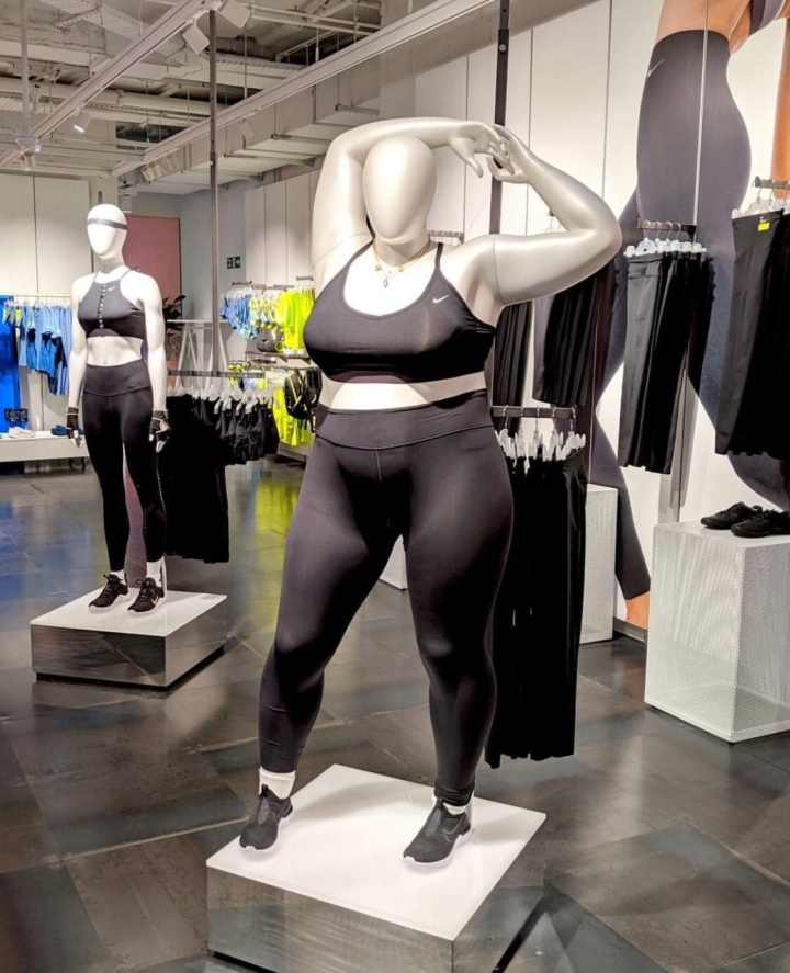 Nike's Plus Size Mannequin Makes a Bold Statement, But Why Is It Bold?